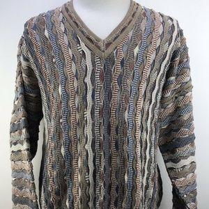 Tundra Mens Biggie Cosby 90's Sweater XL